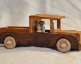 Walnut and Cherry Pickup Truck