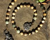 Prayer Strand - Mother Earth Tree of Life Rosary Goddess Worship Mala