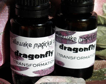 Magickal Ritual Oil - Dragonfly for Transformation and Positive Change (15ml)