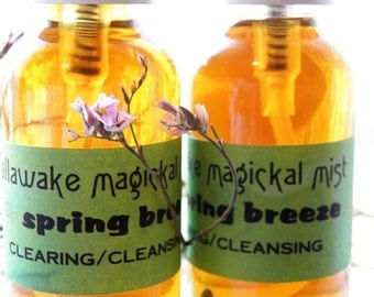 Magickal Ritual Mist - Spring Breeze Clearing/Cleansing Home and Spirit Aromatherapy