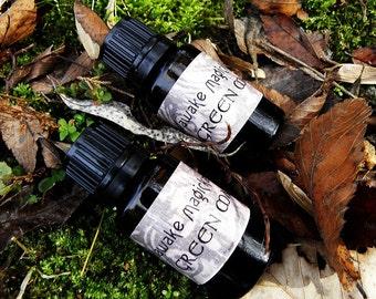 Magickal Ritual Oil - Green Man Spirit of the Forest Oil (15ml)