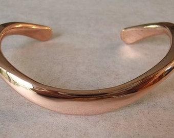 Pure Copper Classic Bracelet in the Heavier 4 gauge