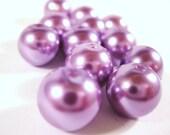 Purple Pearl Beads