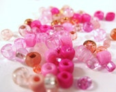 Pink Czech Glass
