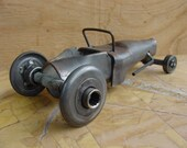 Scrap Metal Hot Rod - Recycled metal rat rod