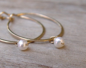 Small Gold Hoops, Birthstone Earrings, Small Gold Hoop Earring, Hammered Gold Hoop Earrings, Gold Hoop Earrings, Thin Gold Hoop Earrings