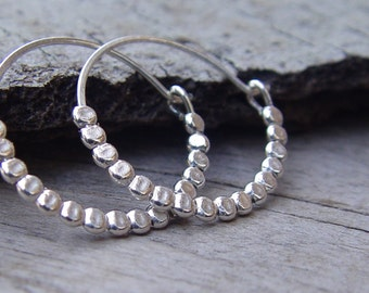 Silver Hoops , Sterling Silver Hoops, Silver Earrings,  Sterling Silver Earring, Silver Hoop Earrings, Small Silver Hoop Earrings