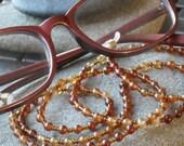 Autumn Shades Eyeglass Chain