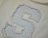 Raggy (or not) Applique Font - Machine Embroidery