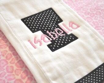 Blockhead Applique Font - machine embroidery