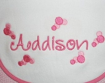 Trendy Sweet Embroidery Font Machine Embroidery