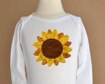 Sunflower Applique - 3 sizes