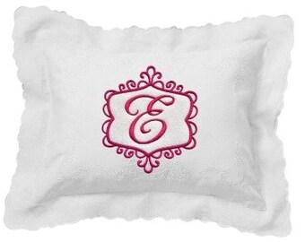 Posh Swirls Monogram - 2 sizes Machine Embroidery Elegant Design