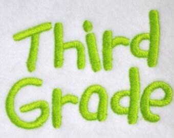 Third Grade Font - 4 sizes
