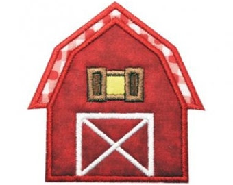 Barn Applique - Barnyard
