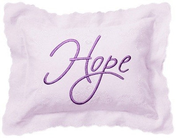 HOPE - Life Sentiments Embroidery Designs