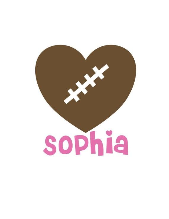 football heart clipart - photo #24