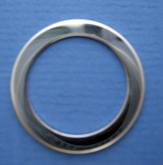 Sterling Silver Washers Open Circles Disc Jewelry Blanks
