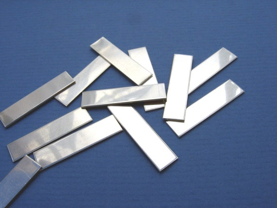Sterling Silver Metal Stamping Blanks Pendant Jewelry Making
