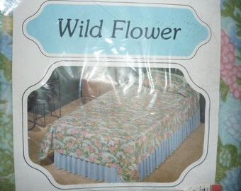 Wild Flower Vintage Blanket Twin/Full