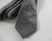 Cambridge Wool Herringbone Necktie