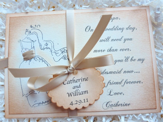 Will You Be My Bridesmaid Card RESERVED for CARA (2)