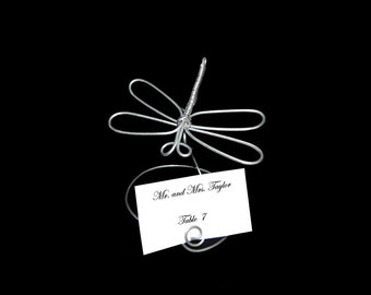 A Dragonfly Placecard Holder,Picture Holder 098