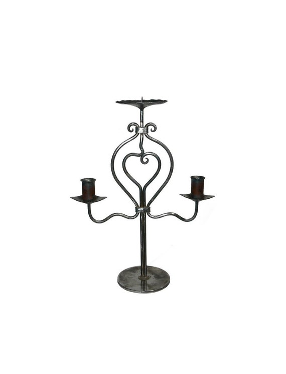 Unity Candle Holder L4( Clear and Black)