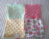 Made and Ready to Go Girly Turtle Patchwork Blanket 12x12 Sale