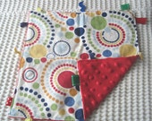 Made and Ready to Go 12x12 Primary Dot Blanket Sale
