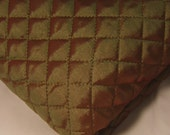 Quilted Green Fabric