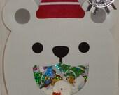 Mind Wave Kawaii Winter Selection Polar Bear Sticker Sack