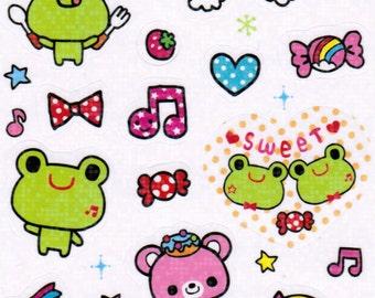 Chu Chu Frog Sticker Sheet