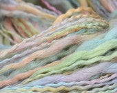 Multicolor Acrylic/wool pastel Yarn 50 gramms, for children spring  stripe sock, cup, baby sweater