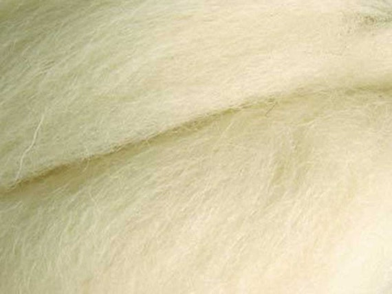 Pure combed Tops Lincoln  Wool for stuff o doll hair waldorf doll 200 gr (7 oz) o