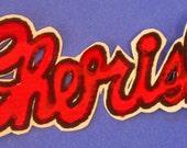 CHERISH cursive title