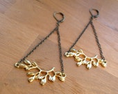 SUPER SALE Almond tree in blossom Earrings