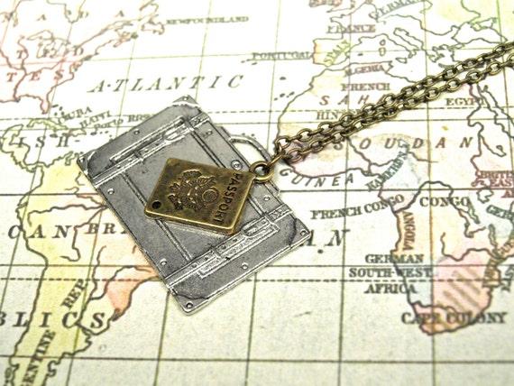 SUPER SALE Traveller Necklace
