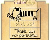 Custom Dog Rubber Address Stamp: Hello, My name is Awesome. Teacher Stamp, Children Stamp, Doggie Stamp, Library Stamp, Ex Libris (2296)