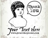 Personalized Rubber Stamp (Pre-inked Stamp) Address Stamp, Thank You, Photography Stamp, Personal, Handmade by Stamp (P2040)