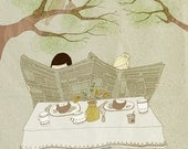 Breakfast Archival Print