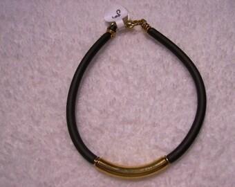 Bracelet - Rubber and Brass