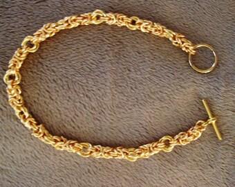 Byzantine with a Twist Bracelet
