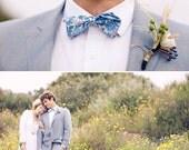 Custom Order for Kerrie, 8 Bow Ties, Mens Bow Ties, Floral Bow Ties, Blue Bow Ties, Freestyle Bow Ties, Wedding BowTie, Bow Tie