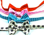 Mens Bow Ties,  Boys Bow Ties, Mens Bow Ties, Custom Bow Ties, Cotton Bow Ties, Cream, Brown Bow Tie