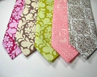 Cotton Floral Mens Neckties