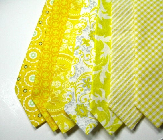 Yellow Neckties, Neckties, Mens Neckties, Necktie, Custom Neckties, Cotton Neckties, Wedding Neckties, Boys Neckties,