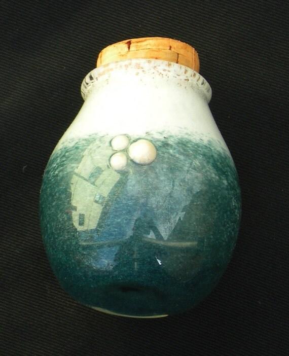 Colored Jar Nug Jug Stash Container (medium)