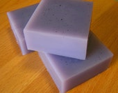 LAVENDER SOAP, Glycerin Soap Enriched with Aloe Vera, square