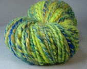 Reflecting Pool - 2-ply mixed batt handspun yarn - worsted/aran, 152 yards, 3.7 ounces